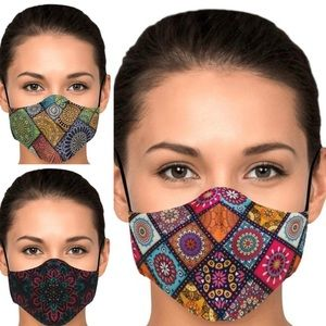 Ladies' Printed Face Masks